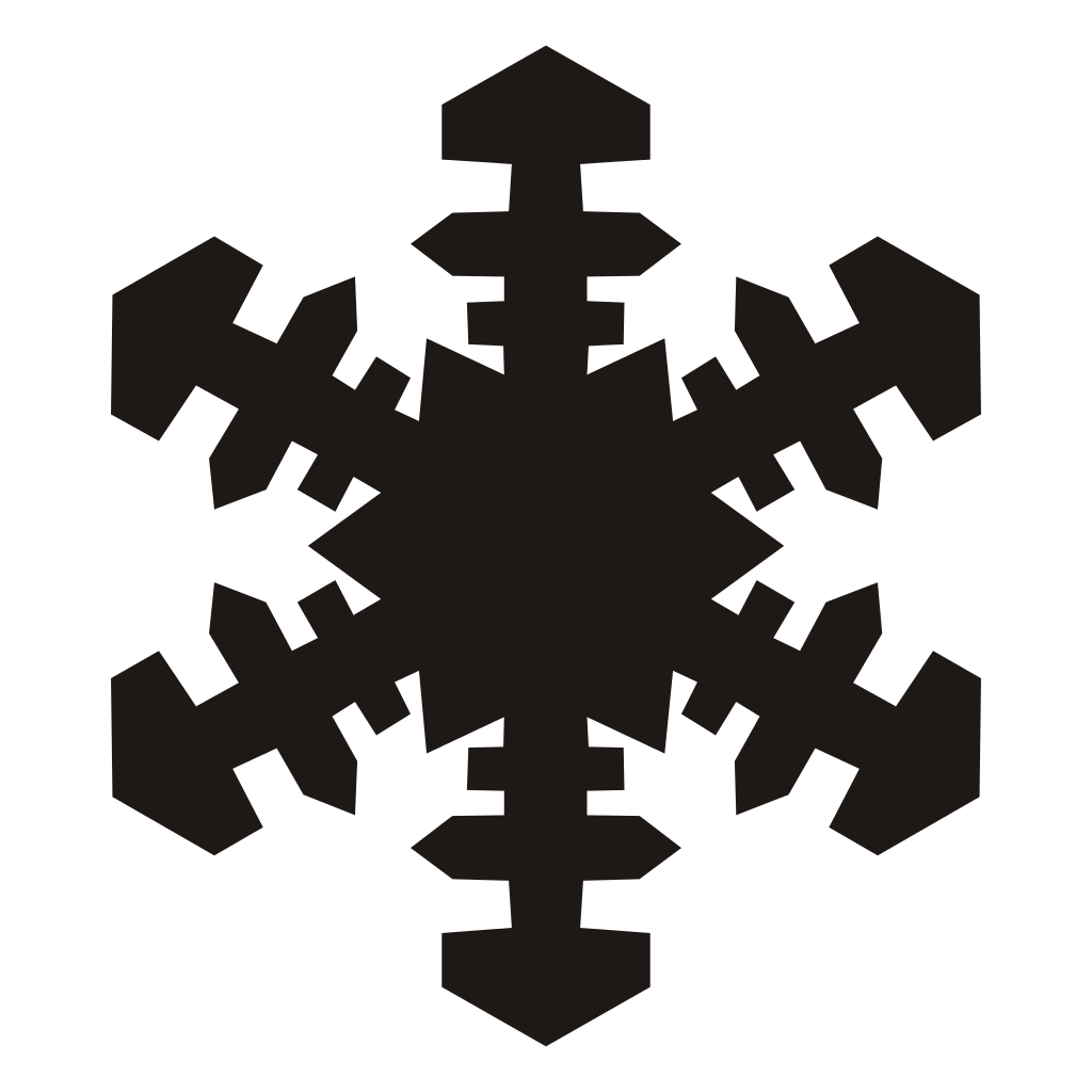 Acur lunamedia co. Snowflake vector png