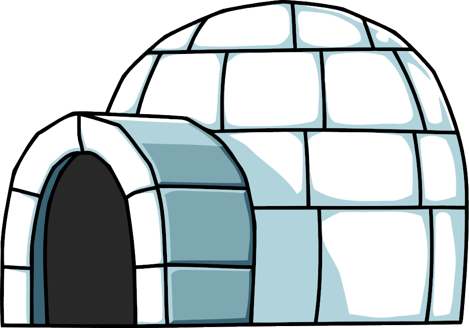 Image su png scribblenauts. Igloo clipart transparent background