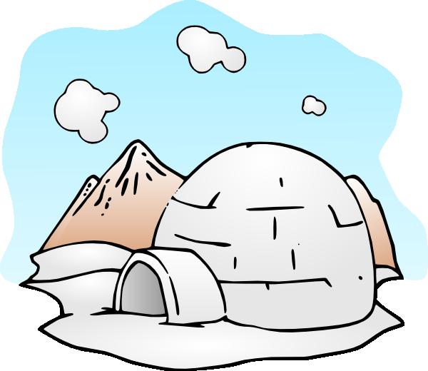 igloo clipart polar climate