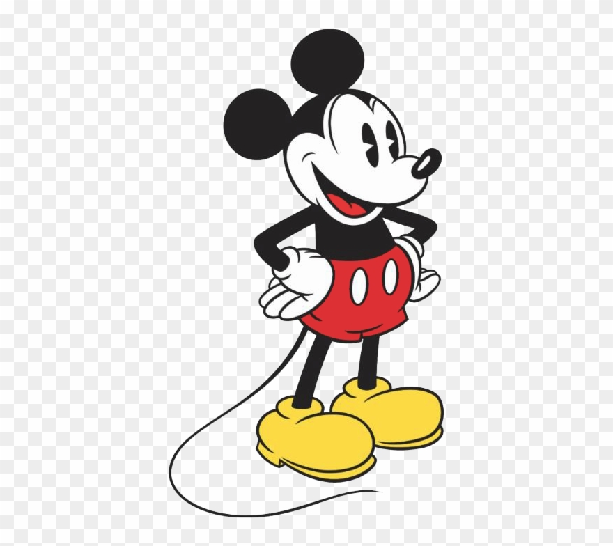Snow mouse classic png. Mickey clipart vintage mickey