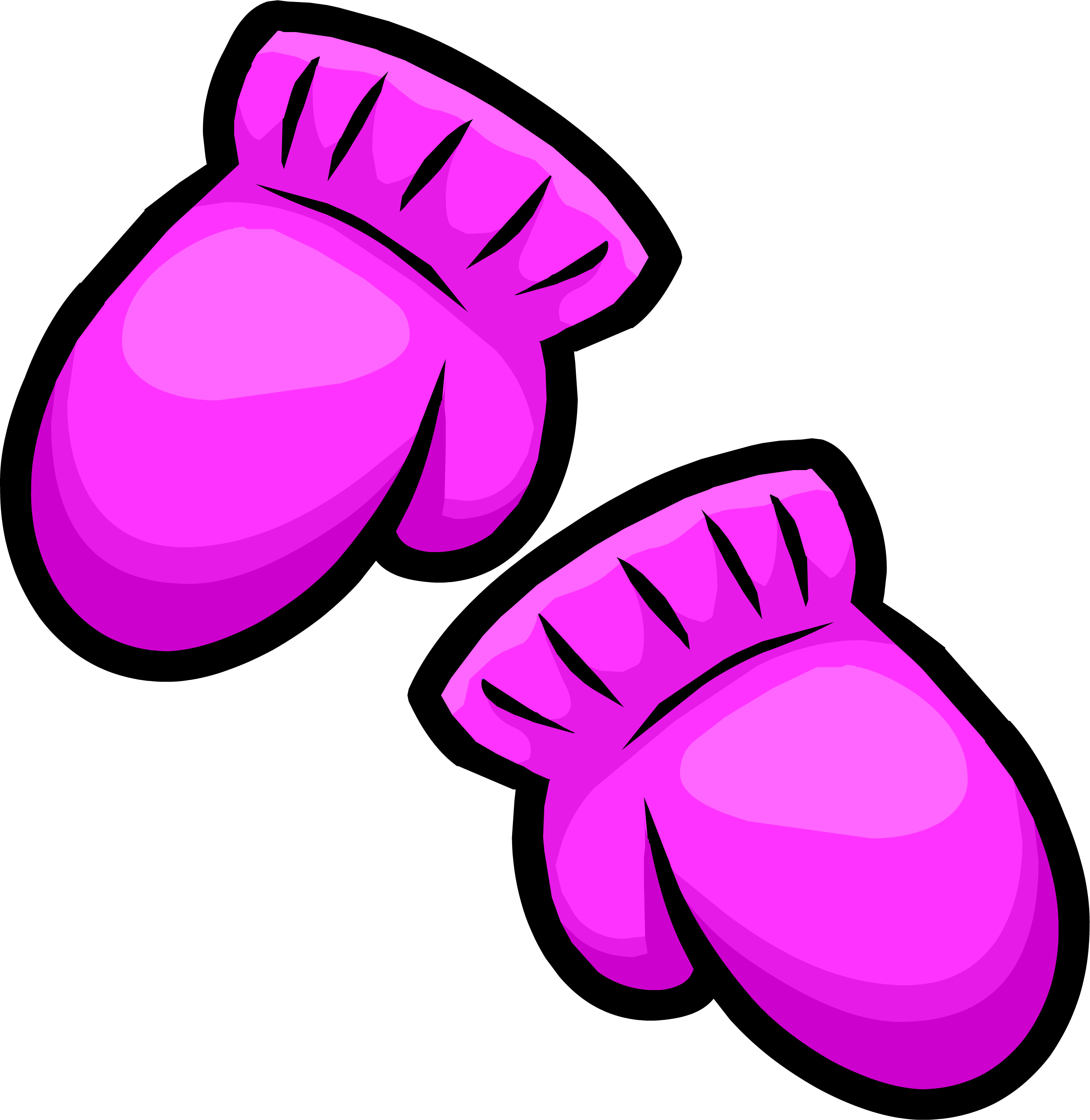 Pink club penguin wiki. Mittens clipart laurie