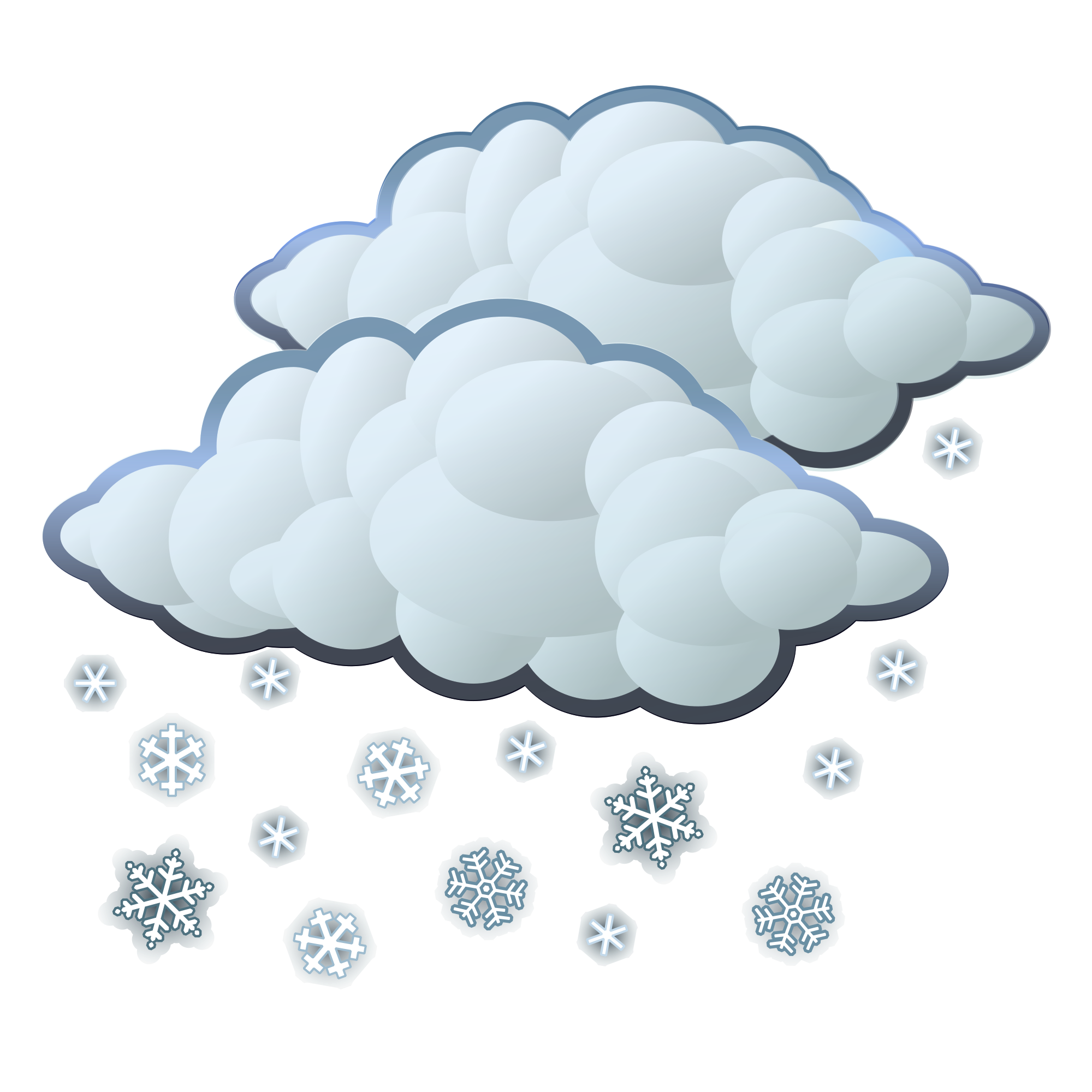 File snow svg wikimedia. Photo clipart weather