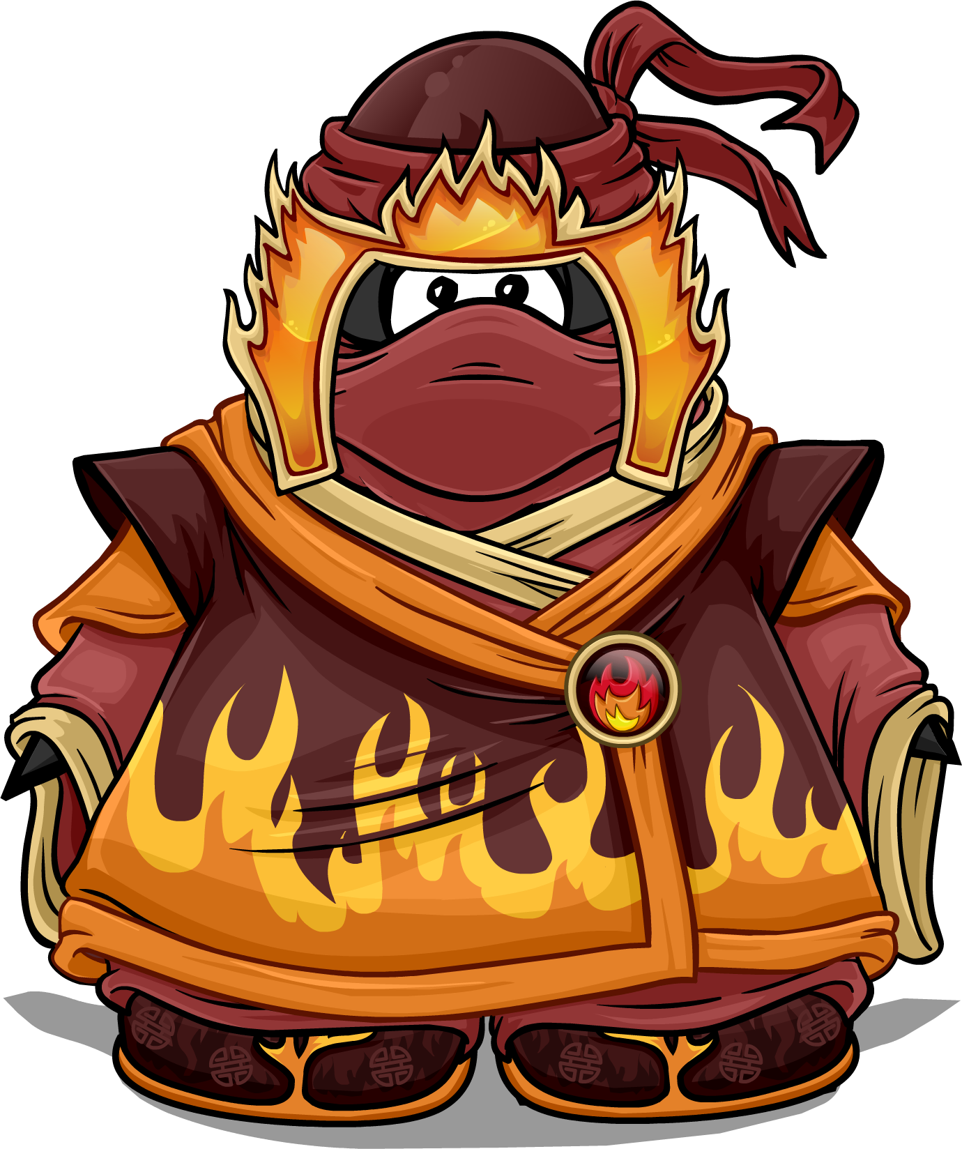 Club clipart card suit. Fire penguin wiki fandom