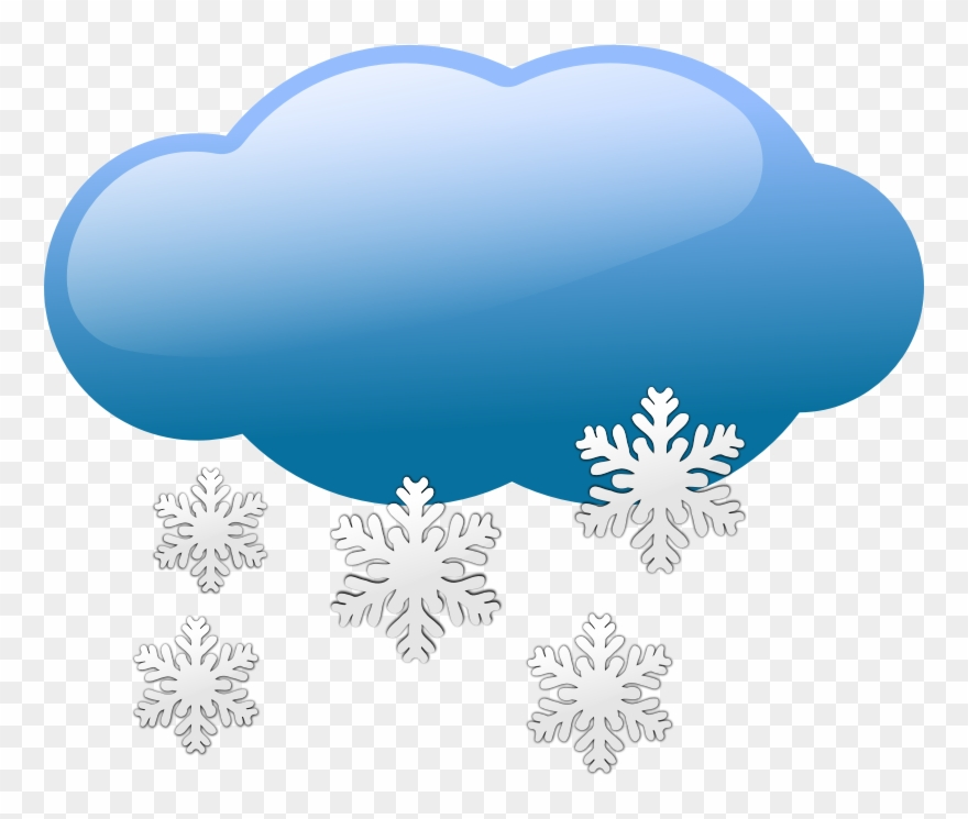 Fog clipart cold cloud. Snowing foggy weather clip