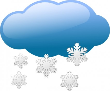 Free snowflake symbol cliparts. Sunny clipart wether