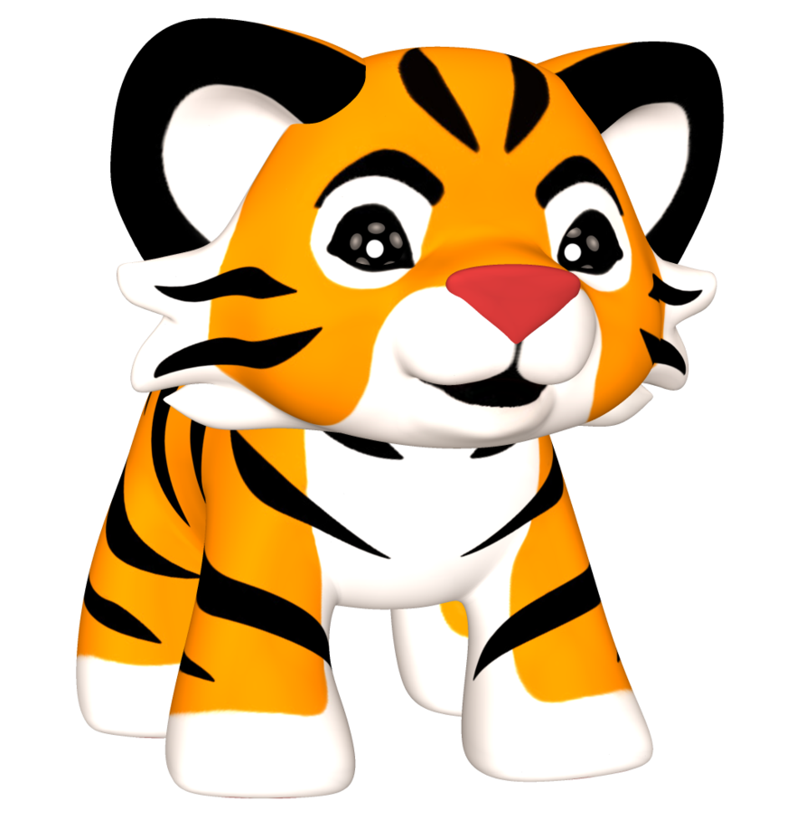 Clipart tiger bengal tiger. Png by sasgraphics on