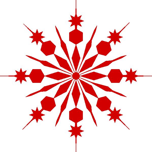 Navy snowflake