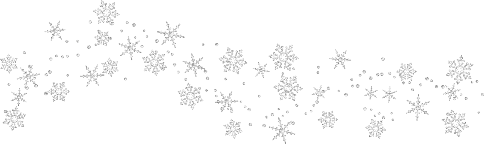 Garland clipart snowflakes.  collection of free
