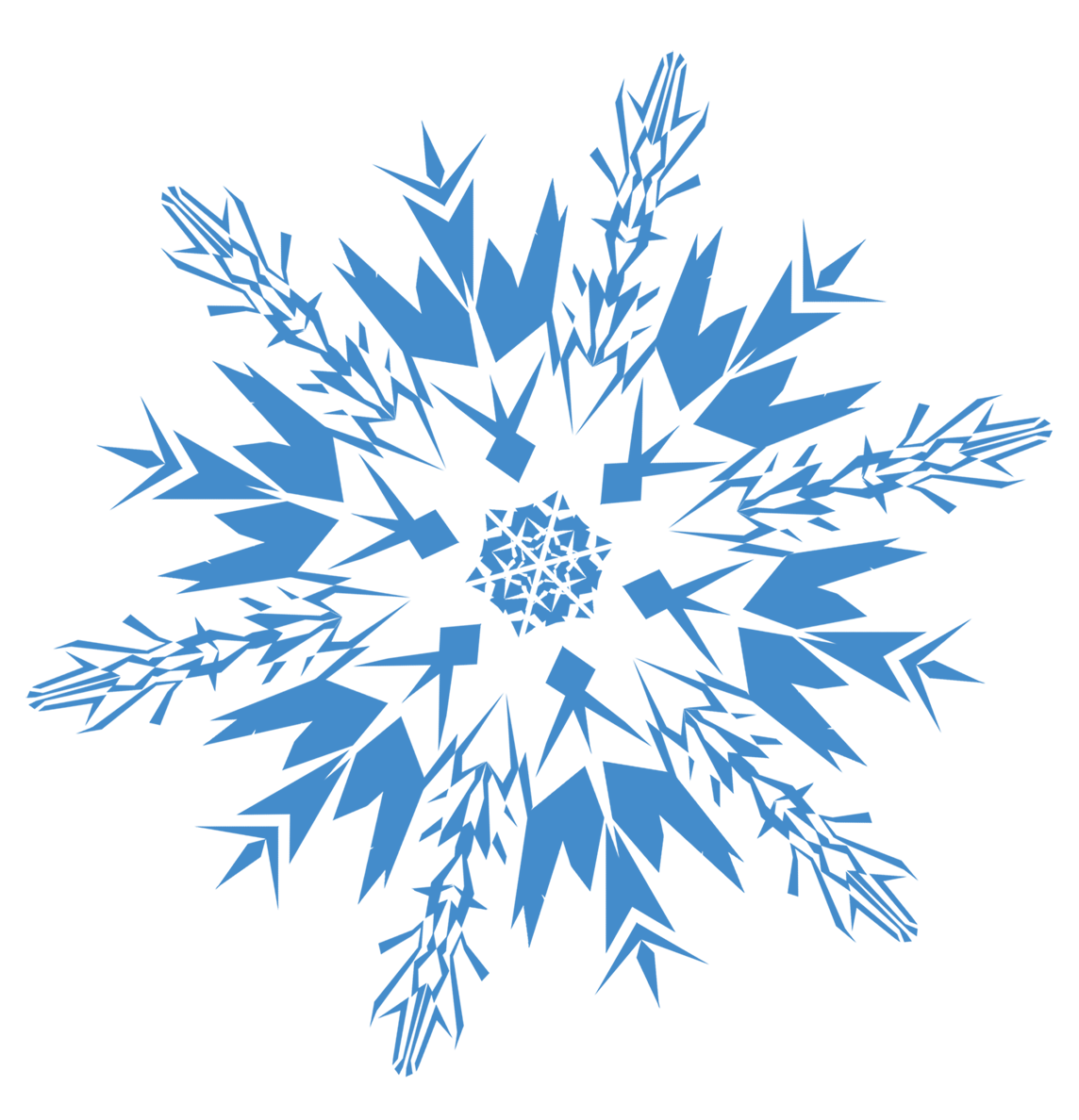 Snowflake border png transparent. Snowflakes images free download