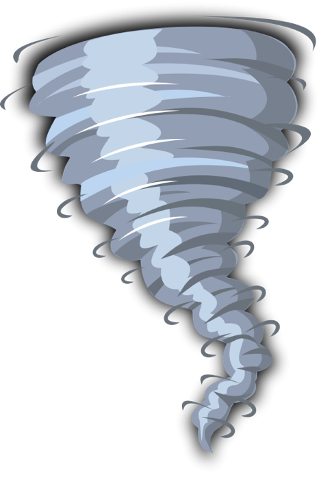 Weather graphics of storms. Windy clipart wind wave