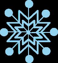 Clip art images blue. Snowflake clipart