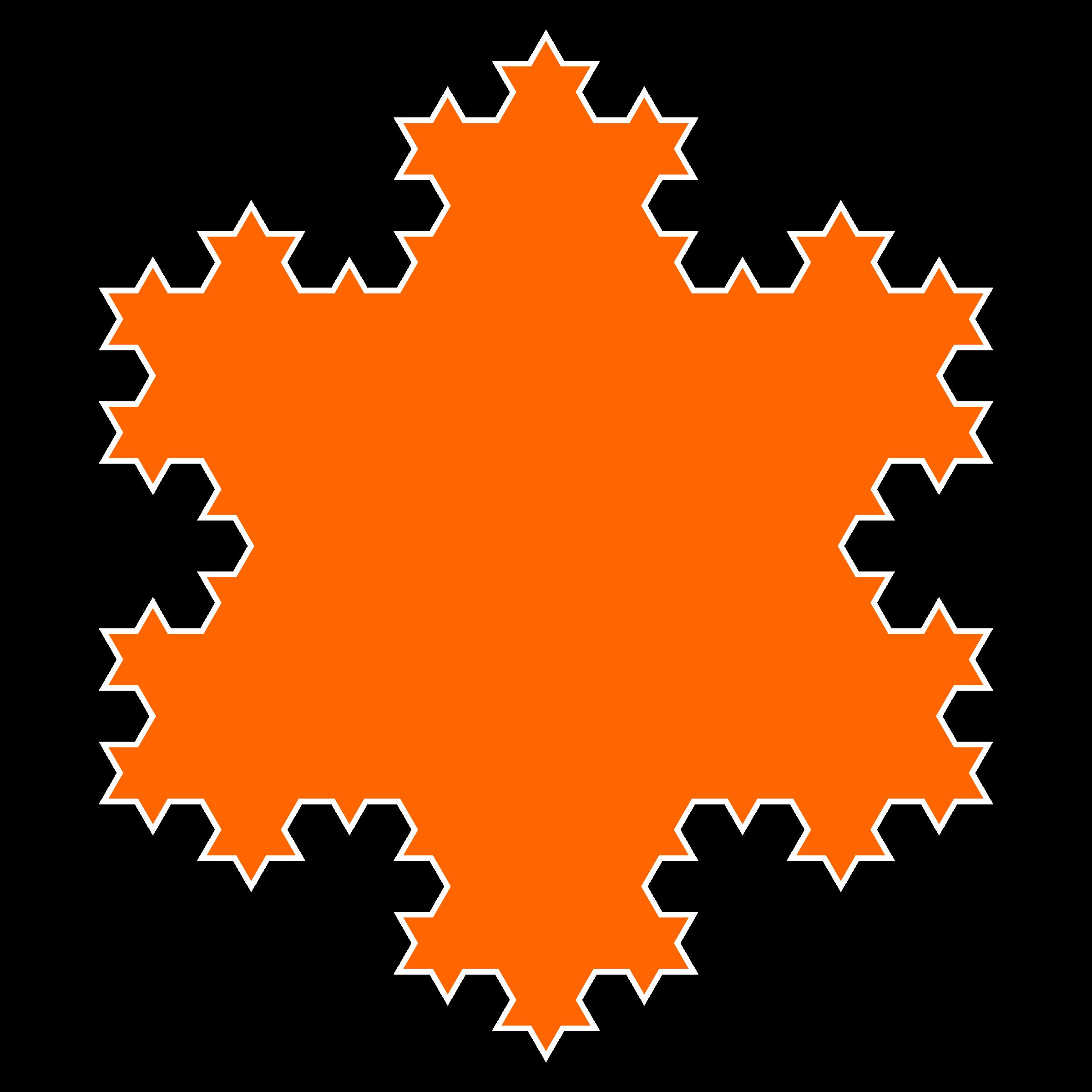 Snowflake orange