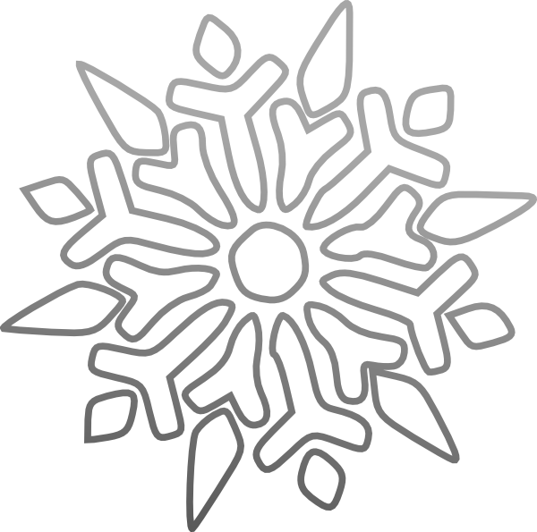 Clip art at clker. Icicles clipart blue snowflake