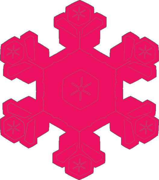 Snowflake colored