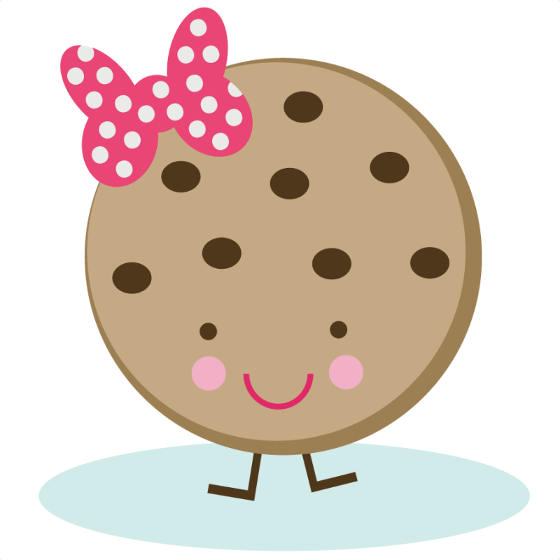 Cute cookie svg file. Scrapbook clipart donut