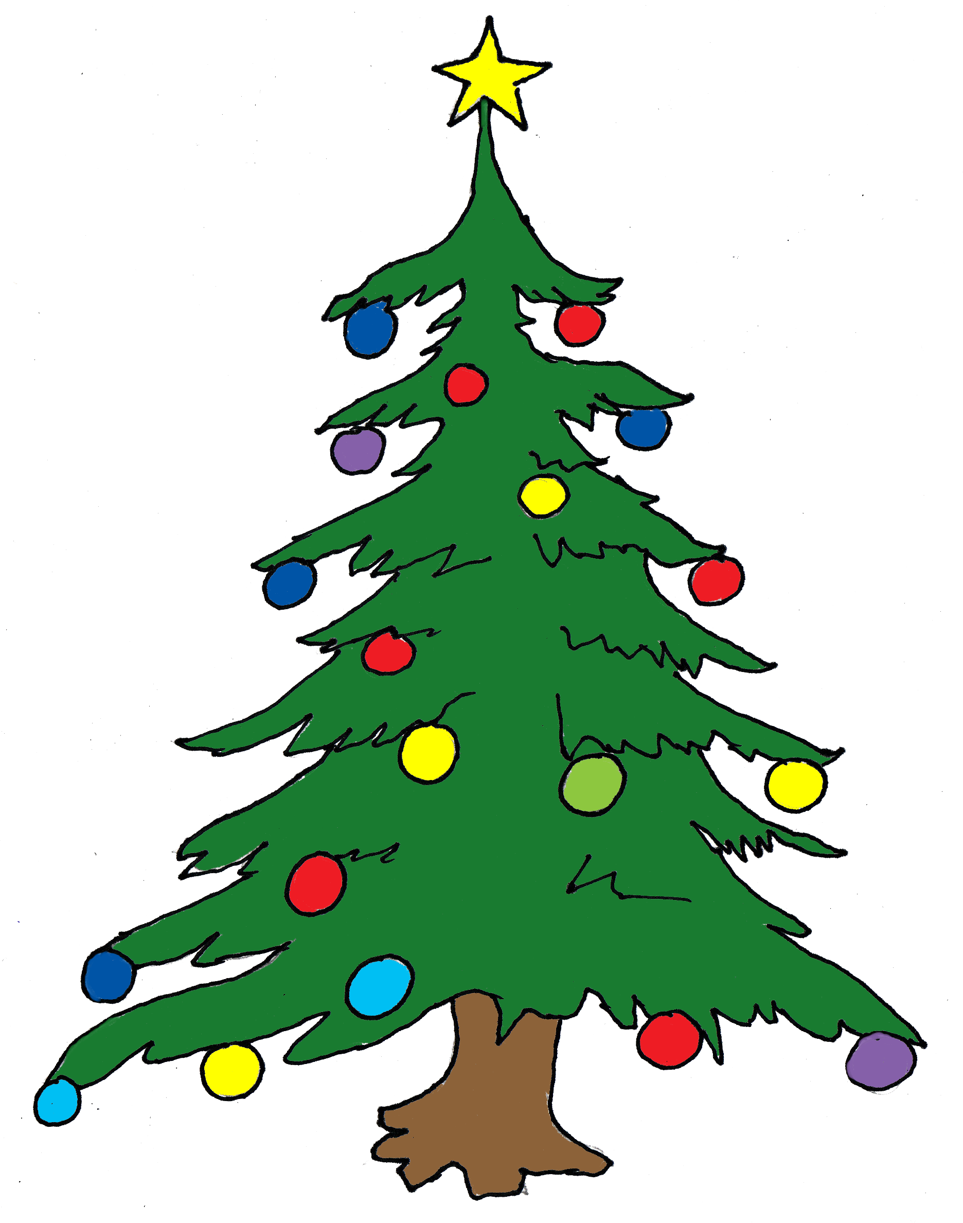 Number 6 clipart free christmas number. Cookie panda images tree
