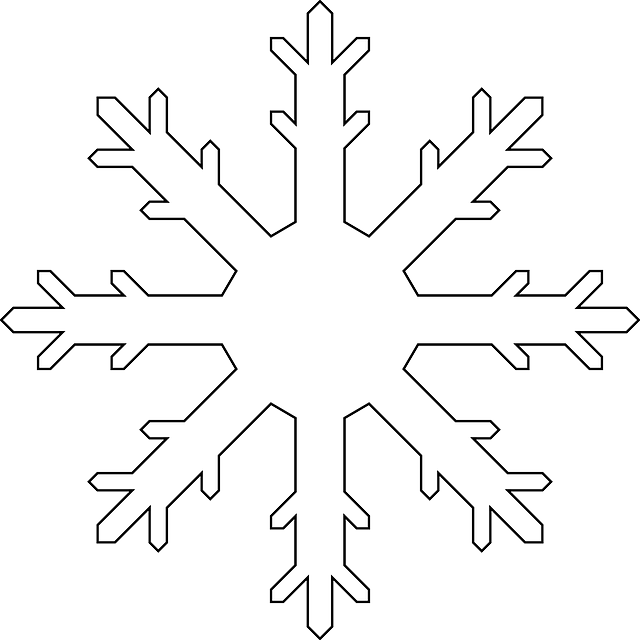 Snowflakes png images free. Crystal clipart vector