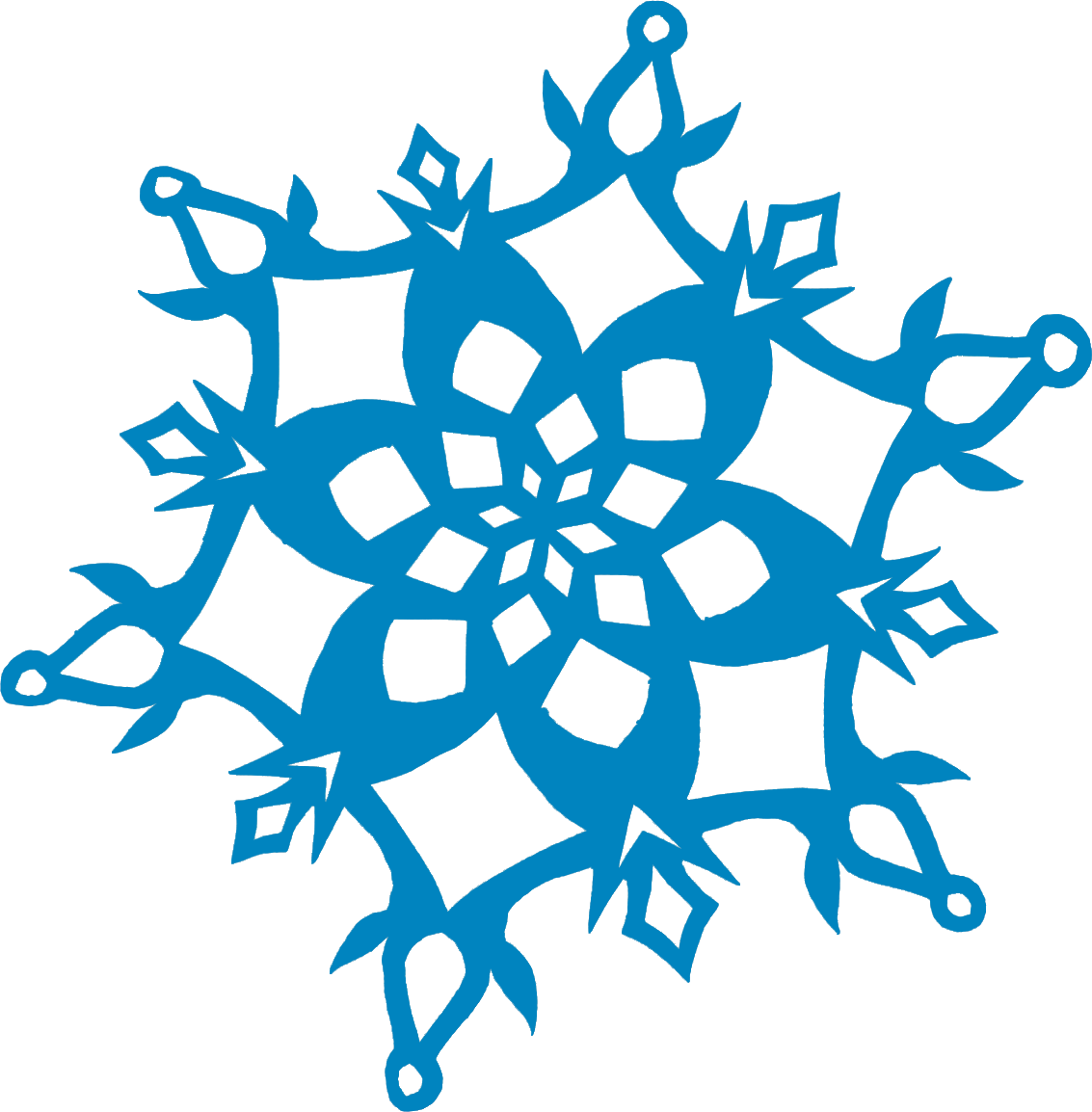 Libella shrinky dink earrings. Clipart snowflake cut out