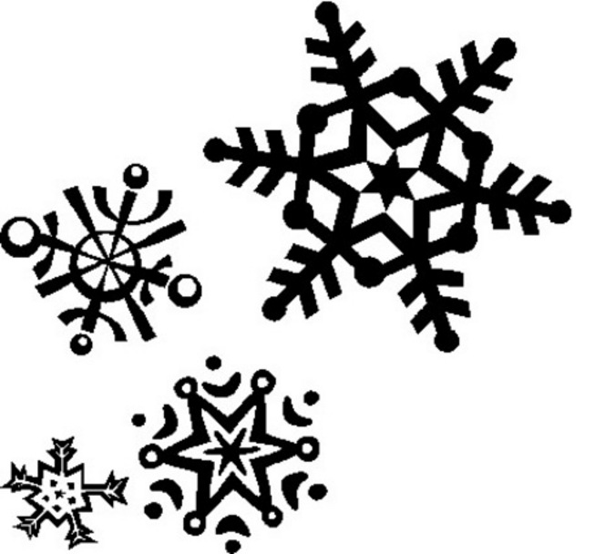 Snowflake clipart modern. Free cliparts patterns download