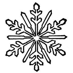 Snowflake clipart drawing. Snowflakes free public domain