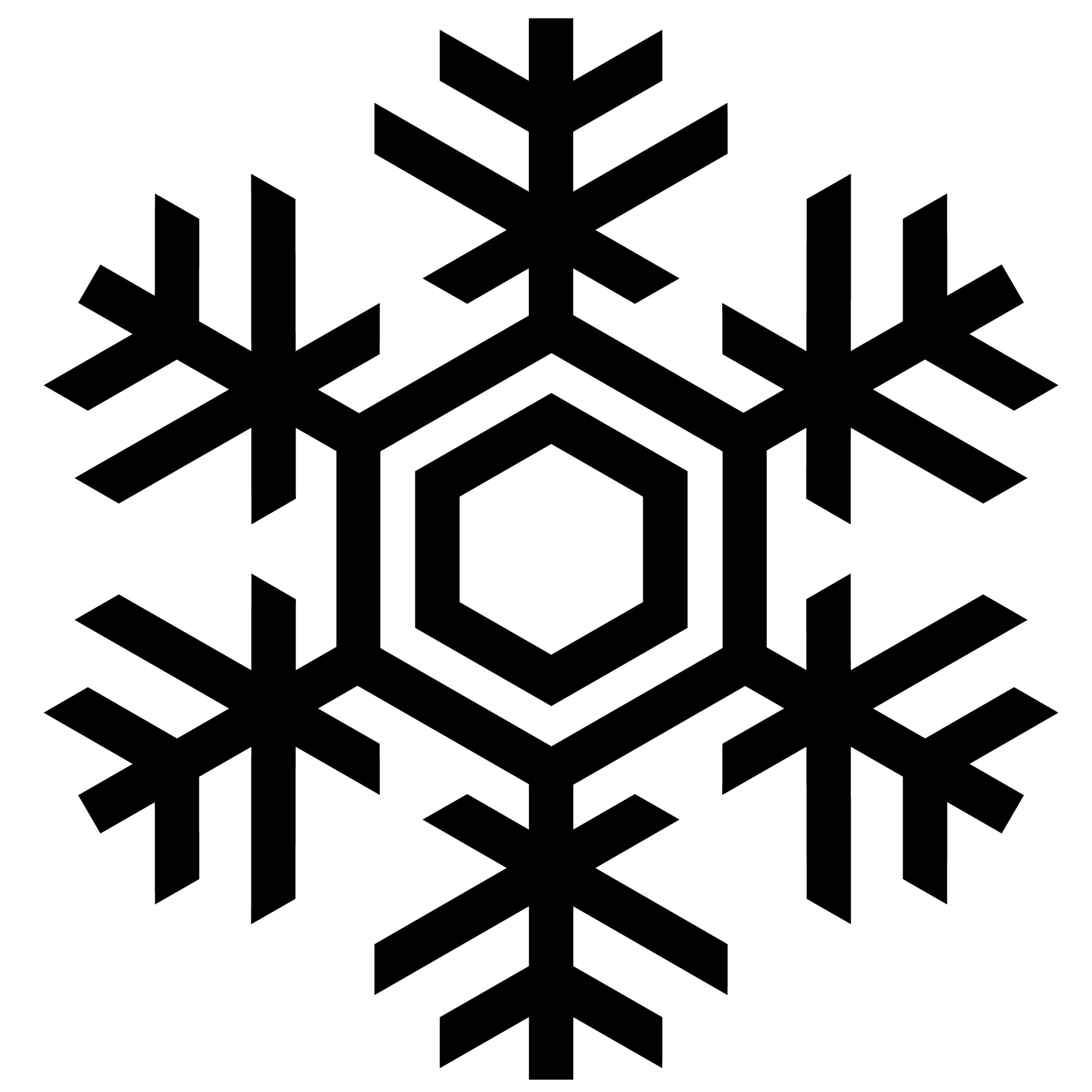 Line free to use. Snowflake clipart drawing