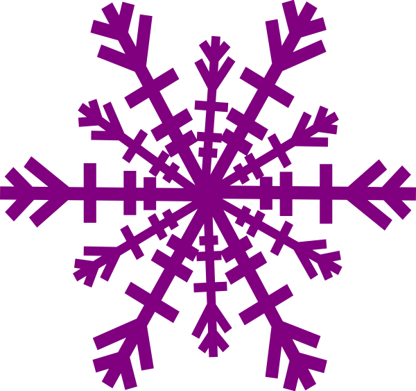 Free purple cliparts download. Clipart snowflake easy