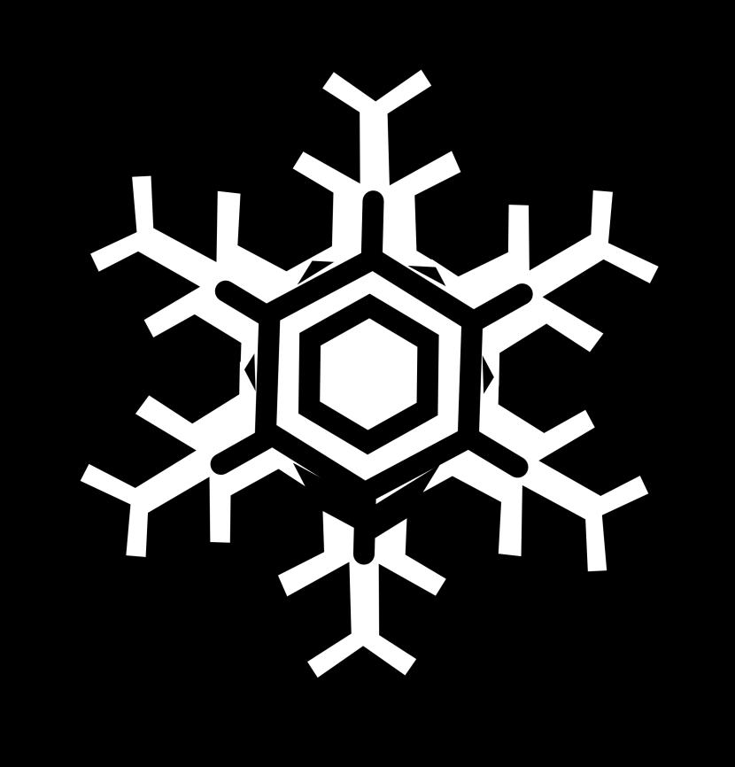 Clipart snowflake easy. Clip art microsoft free