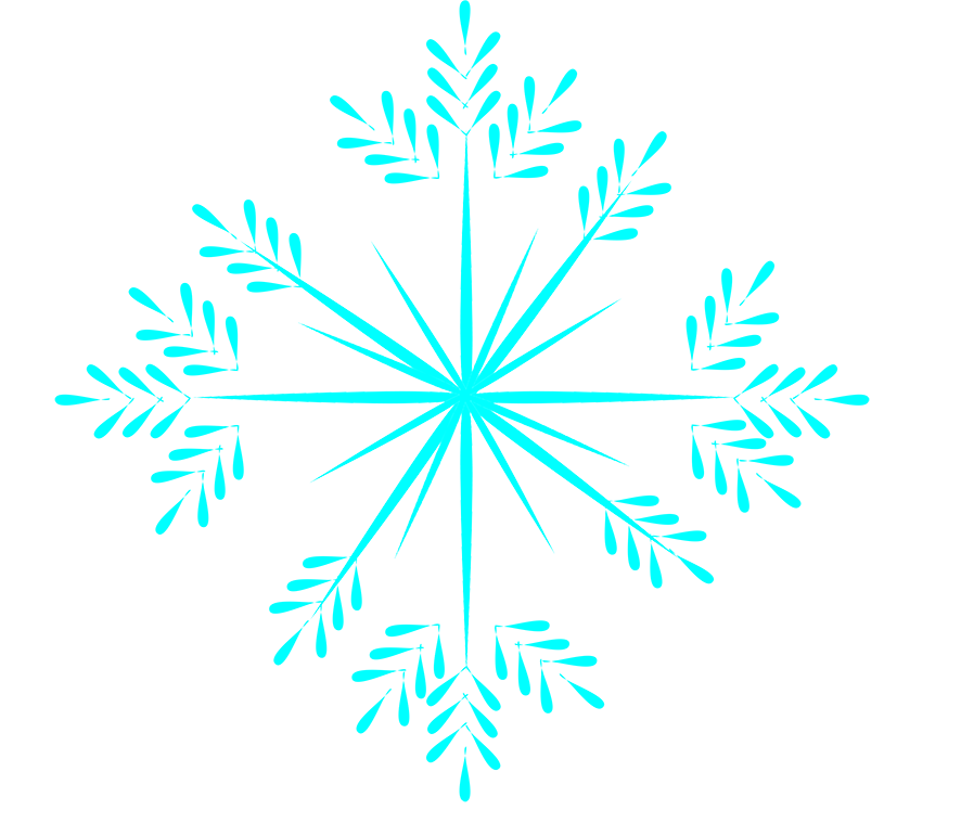 Winter fat snowy footsteps. Icicles clipart ice crystal