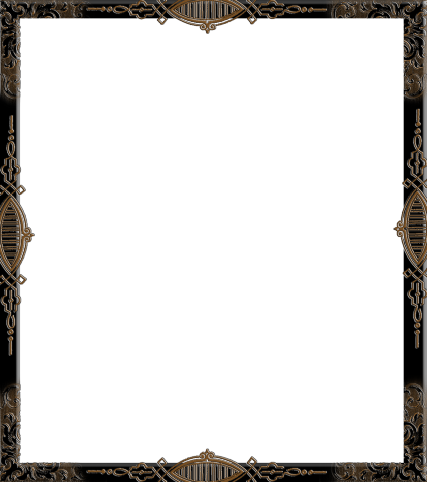 Gothic frame png. By spidergypsy on deviantart