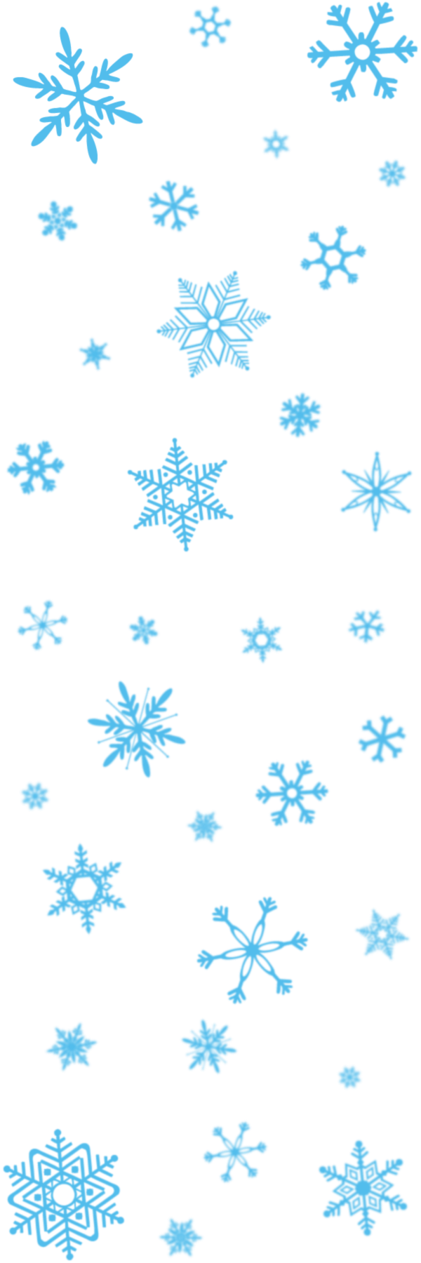 Snowflakes transparent pictures free. Snowflake frame png