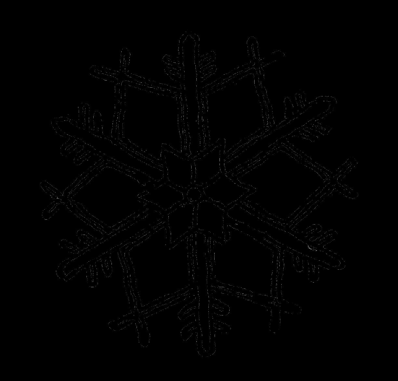 Digital stamp design stock. Clipart snowflake illustration