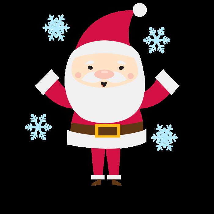 Personalized santa by mainstreetshirt. Mug clipart snowflake