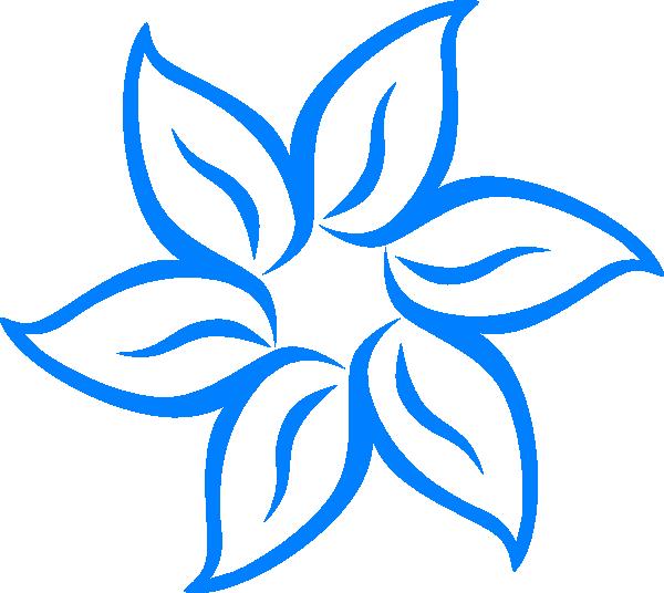 Blue line border panda. Clipart flowers ocean