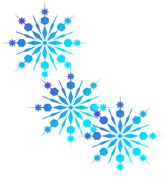 Frozen clipart snowflakes. Christmas and winter is