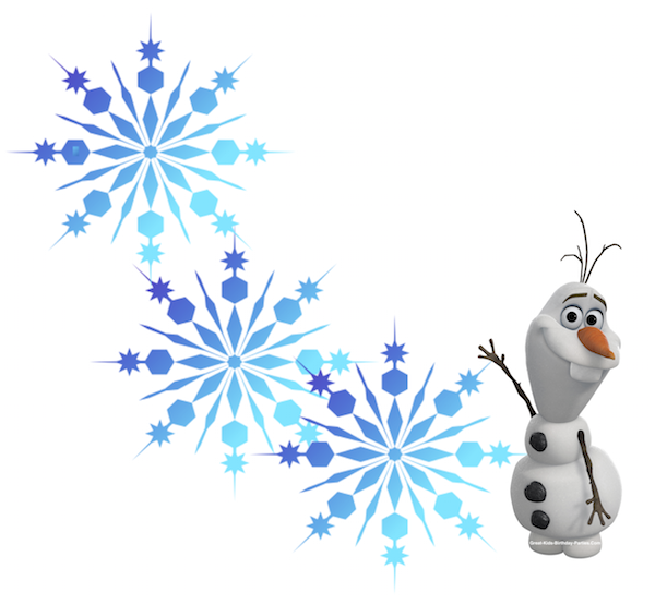 Pin by azouz on. Olaf clipart snowflake