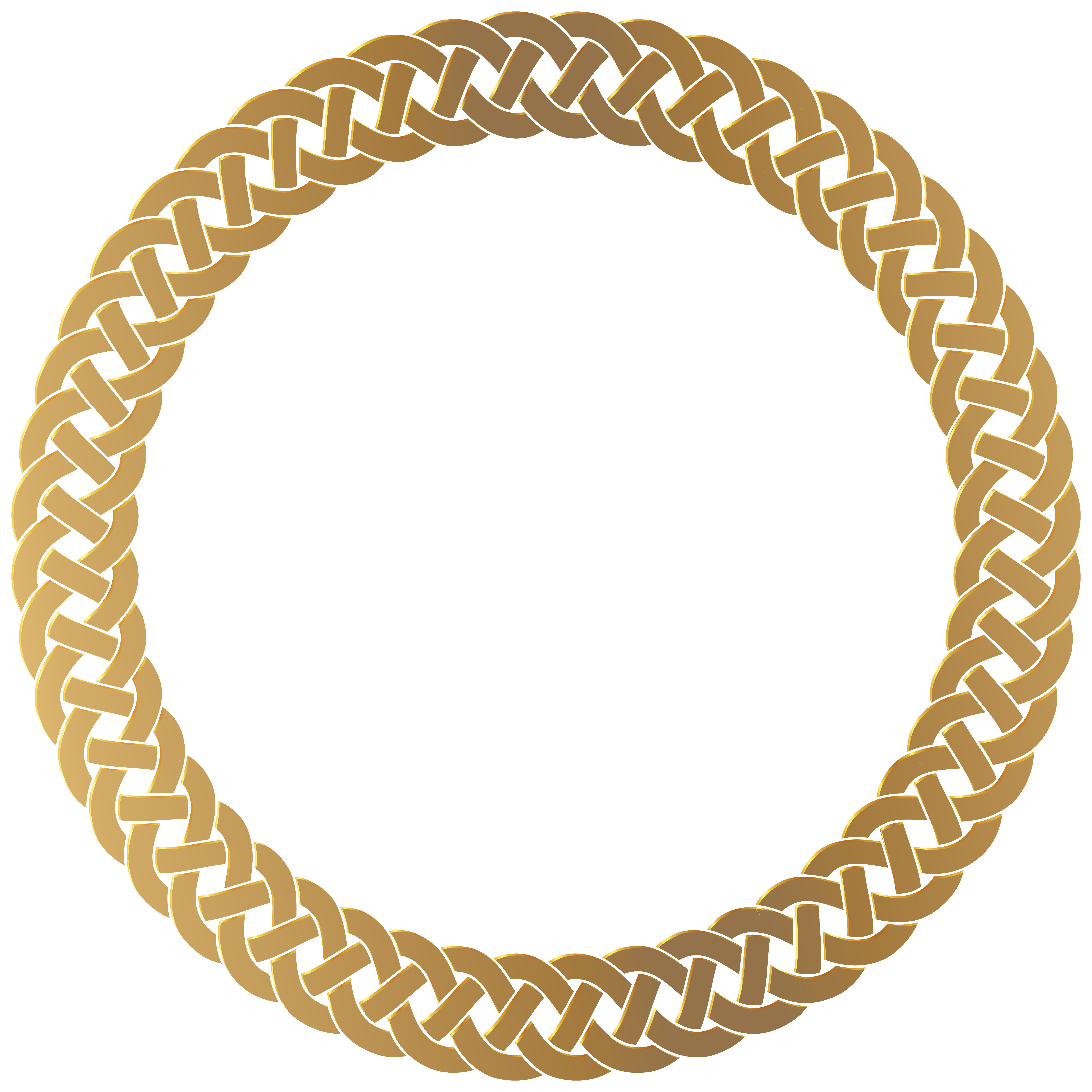 Golden round frame transparent. Surprise clipart border
