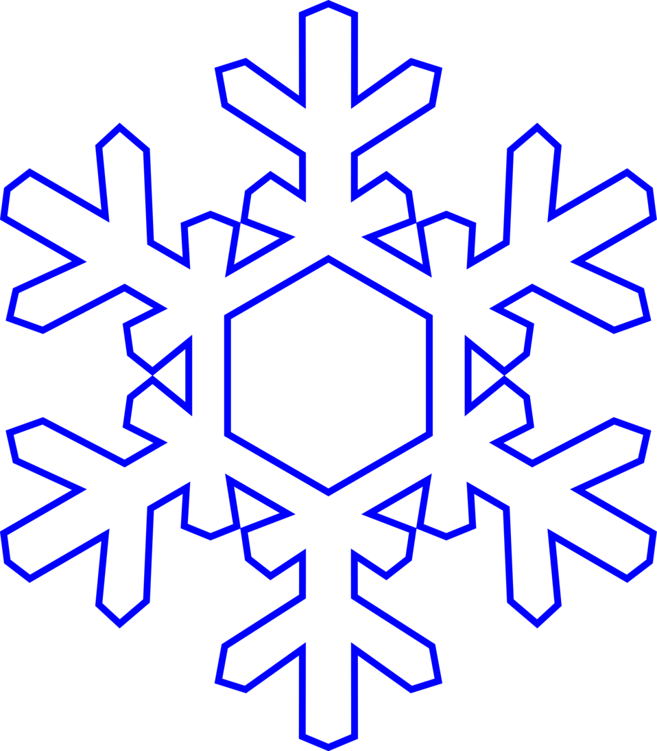 Snowflake clipart yellow. Free stock photo illustration