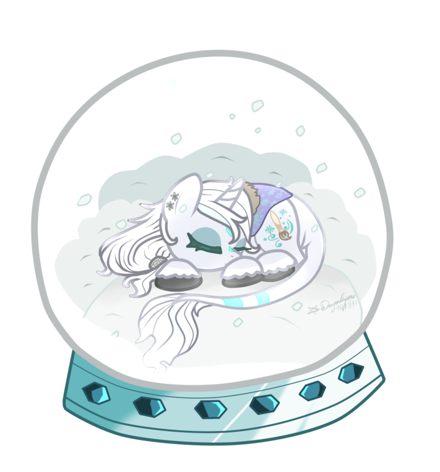 Crystal clipart sketched. Mlp chibi snowflake by