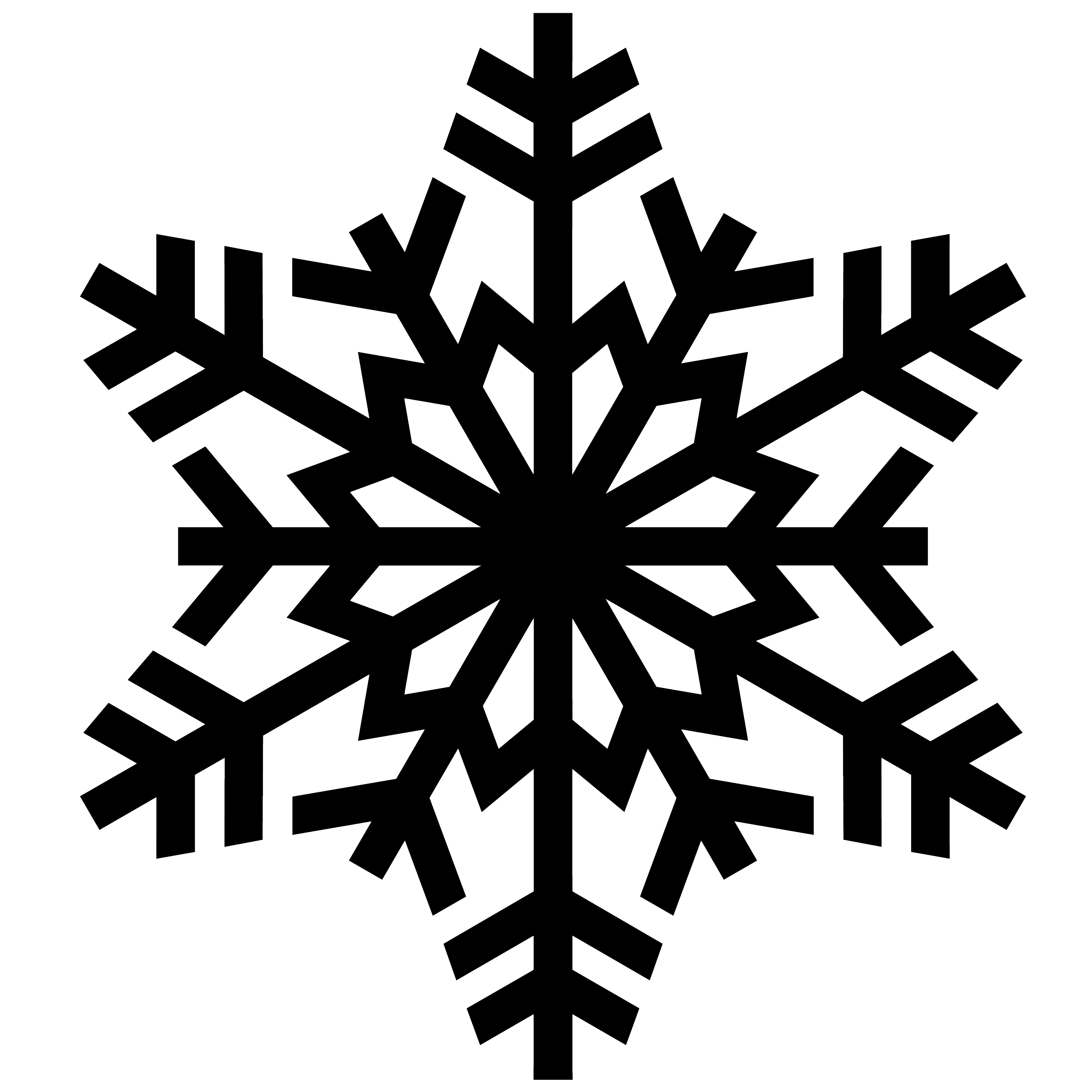 Snowflake vector png. Acur lunamedia co