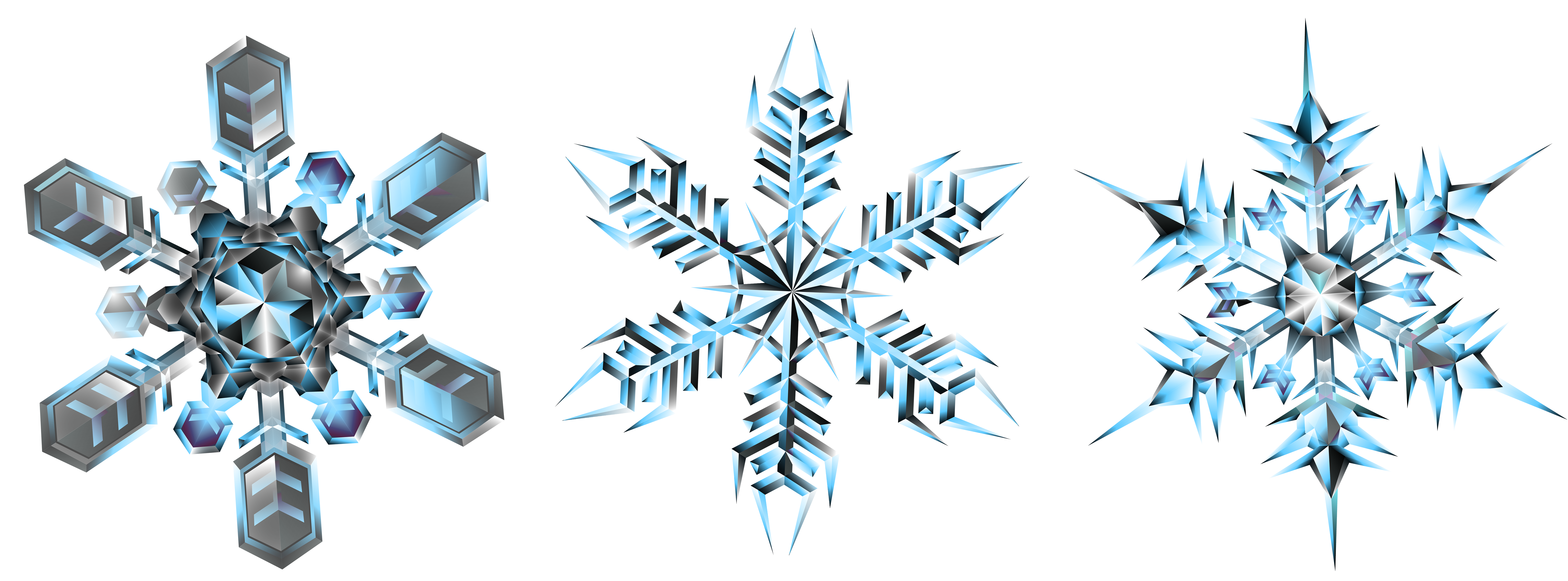 Snowflakes transparent png clip. Crystal clipart green crystal
