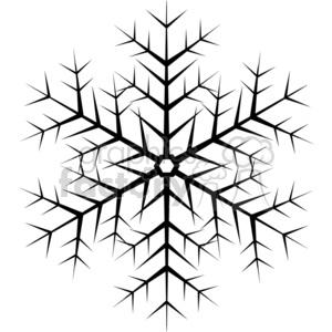 Snowflake clipart pdf. Black vector royalty free