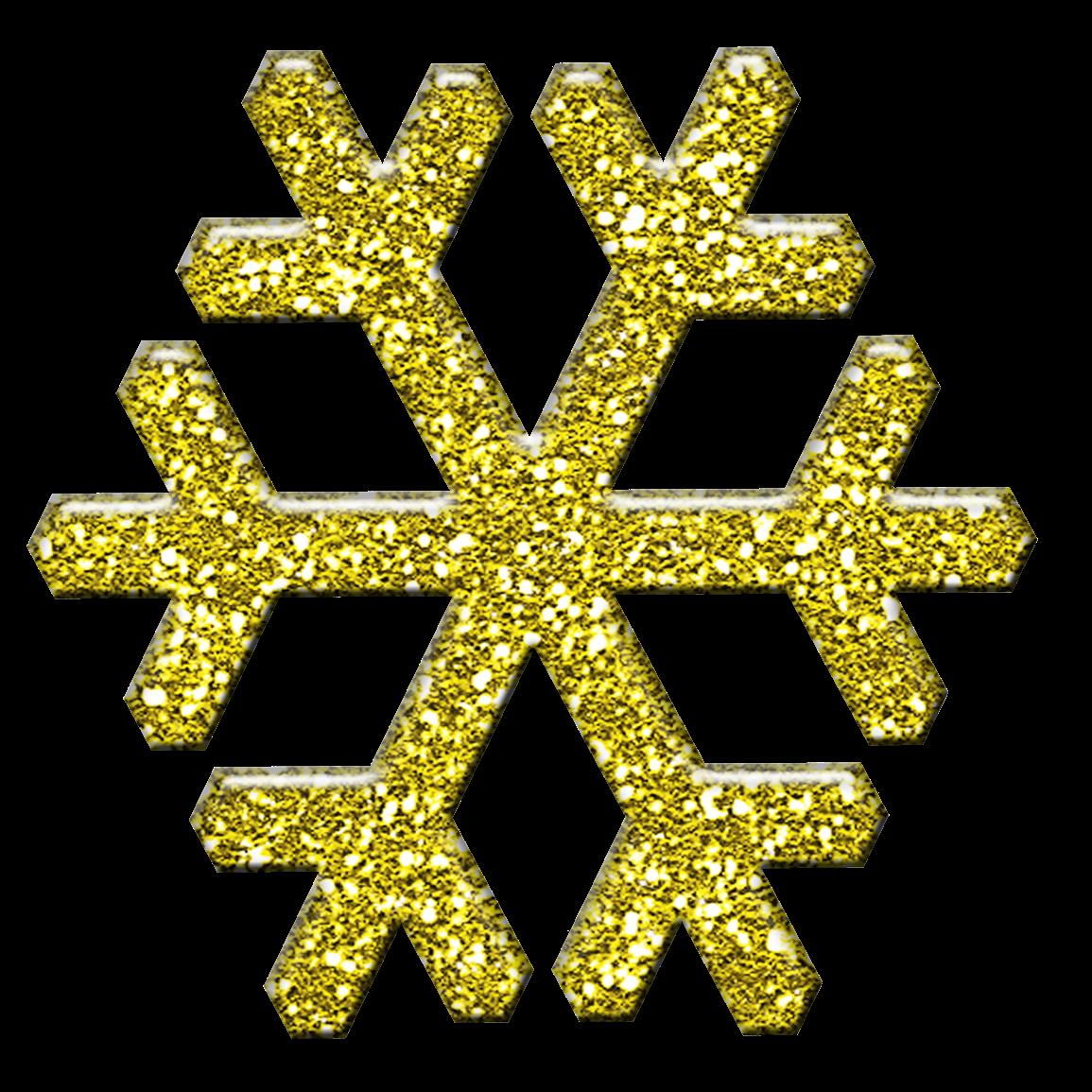Snowflake clipart yellow. Free christmas scrapbooking goodies