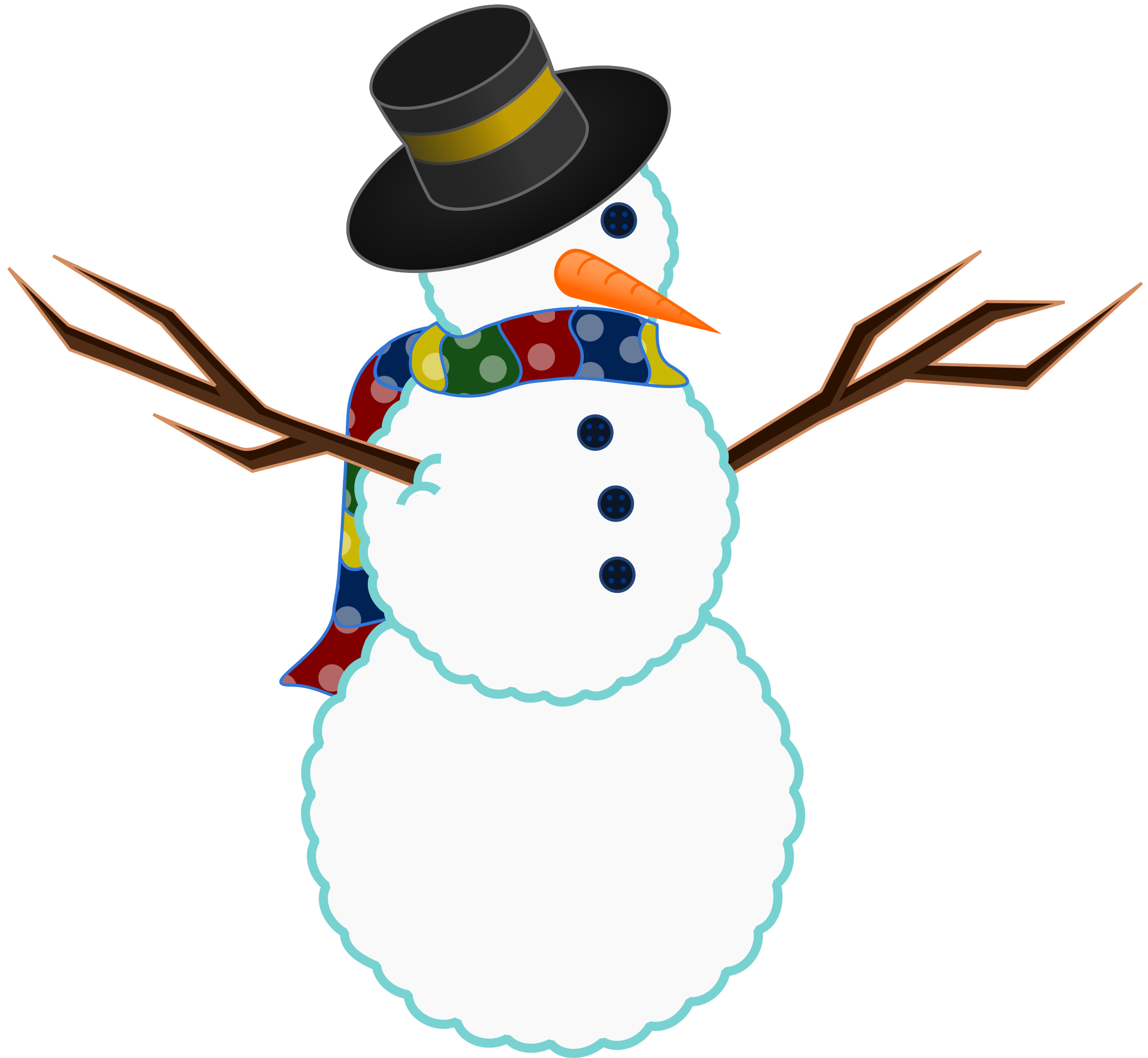 Mexican clipart snowman. Build a google slides