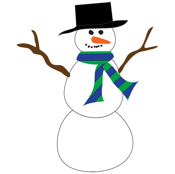 Silhouette at getdrawings com. Make clipart snowman clipart