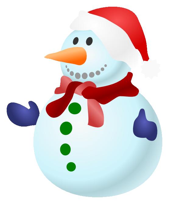 snowman clipart snow man