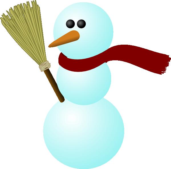 Clip art at clker. Snowman clipart january