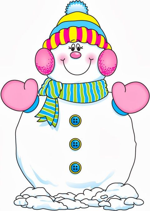 Holiday holidayclipart christmas . Snowman clipart colorful