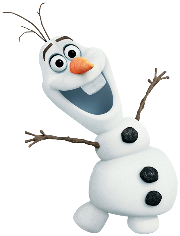 olaf clipart white background