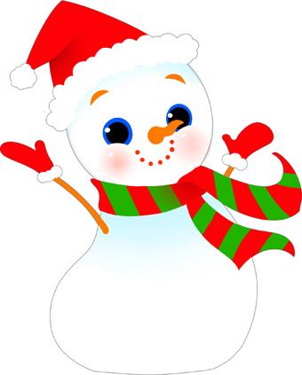 Clip art . Snowman clipart colorful