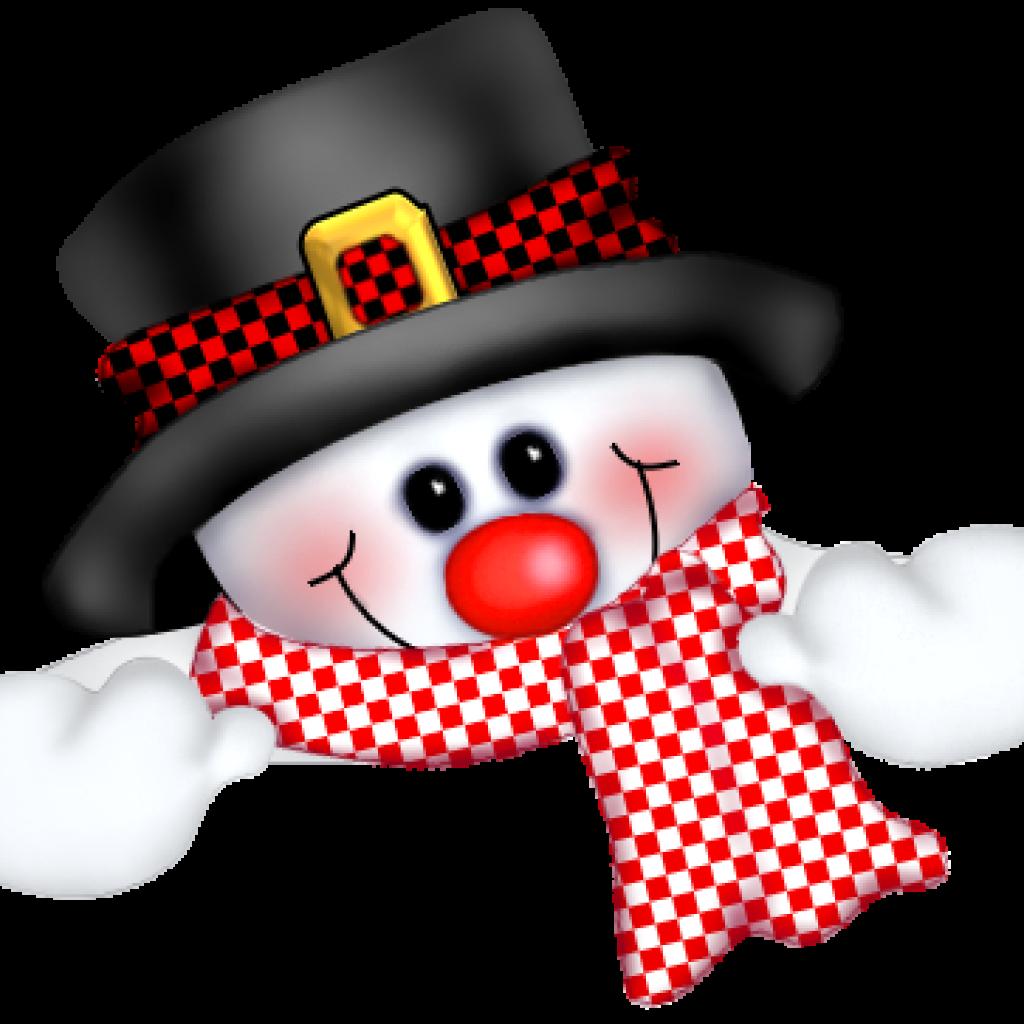snowman clipart cute